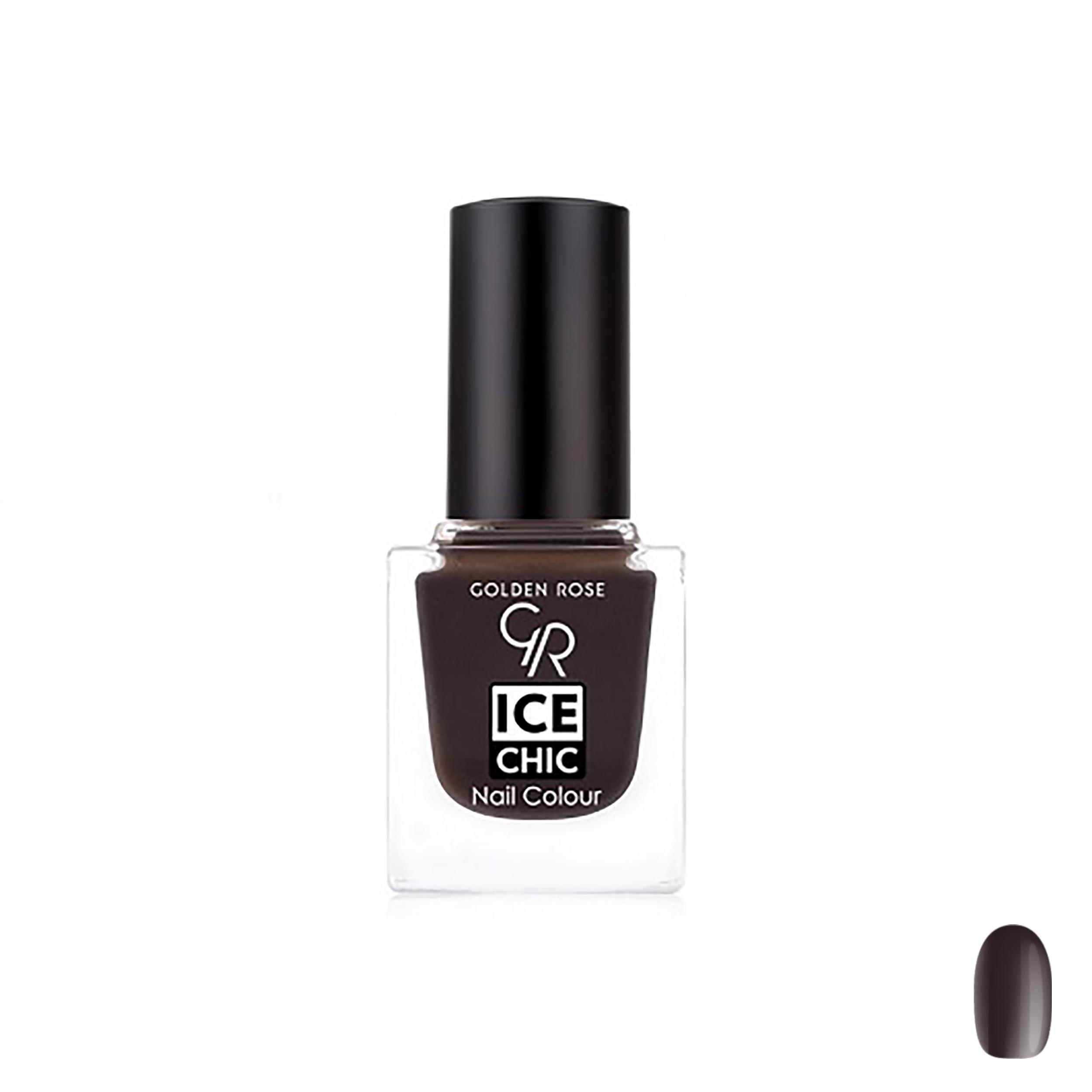 لاک ناخن گلدن رز مدل Ice chic شماره 66