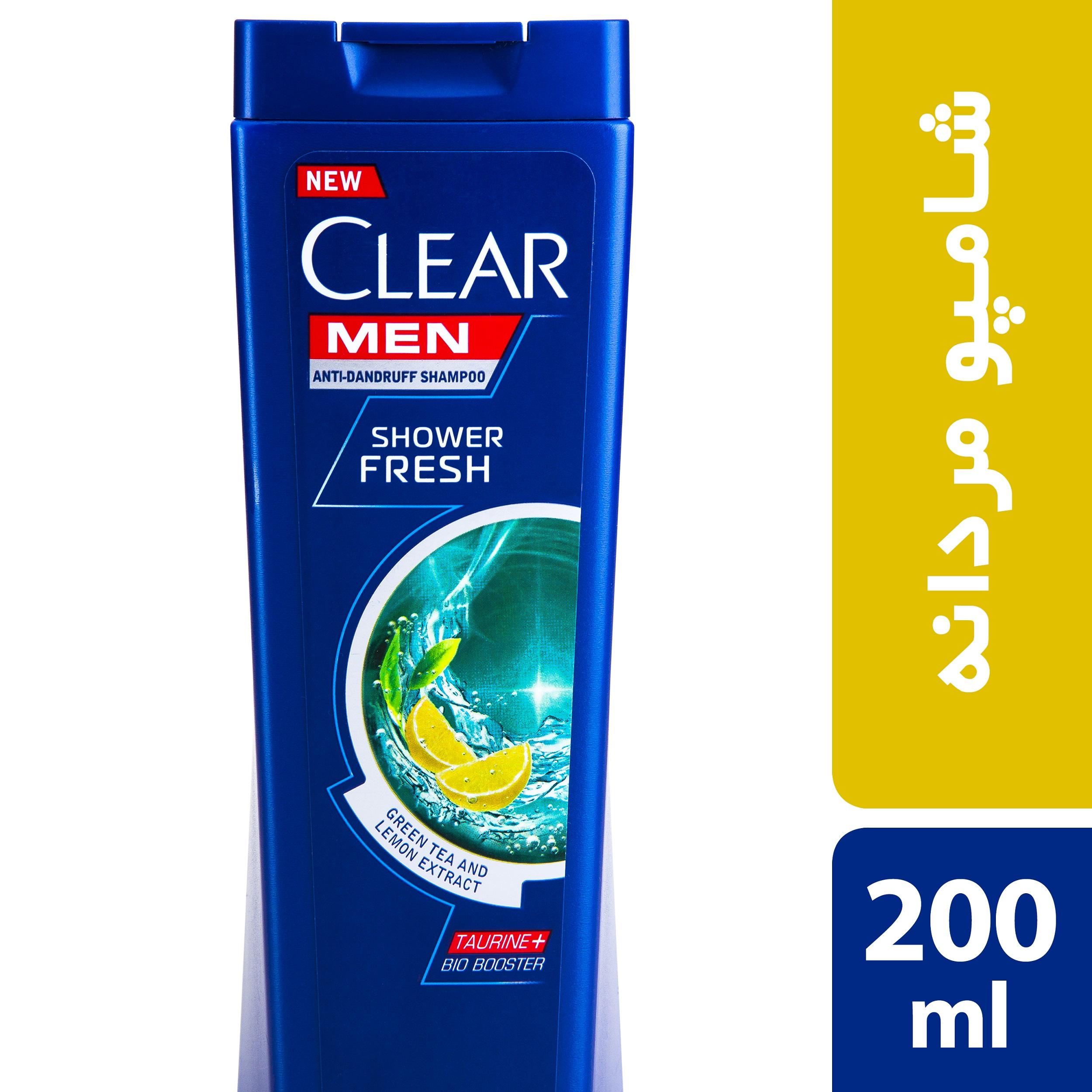 شامپو ضد شوره آقایان کلییر مدل Shower Fresh حجم 200 میلی لیتر
