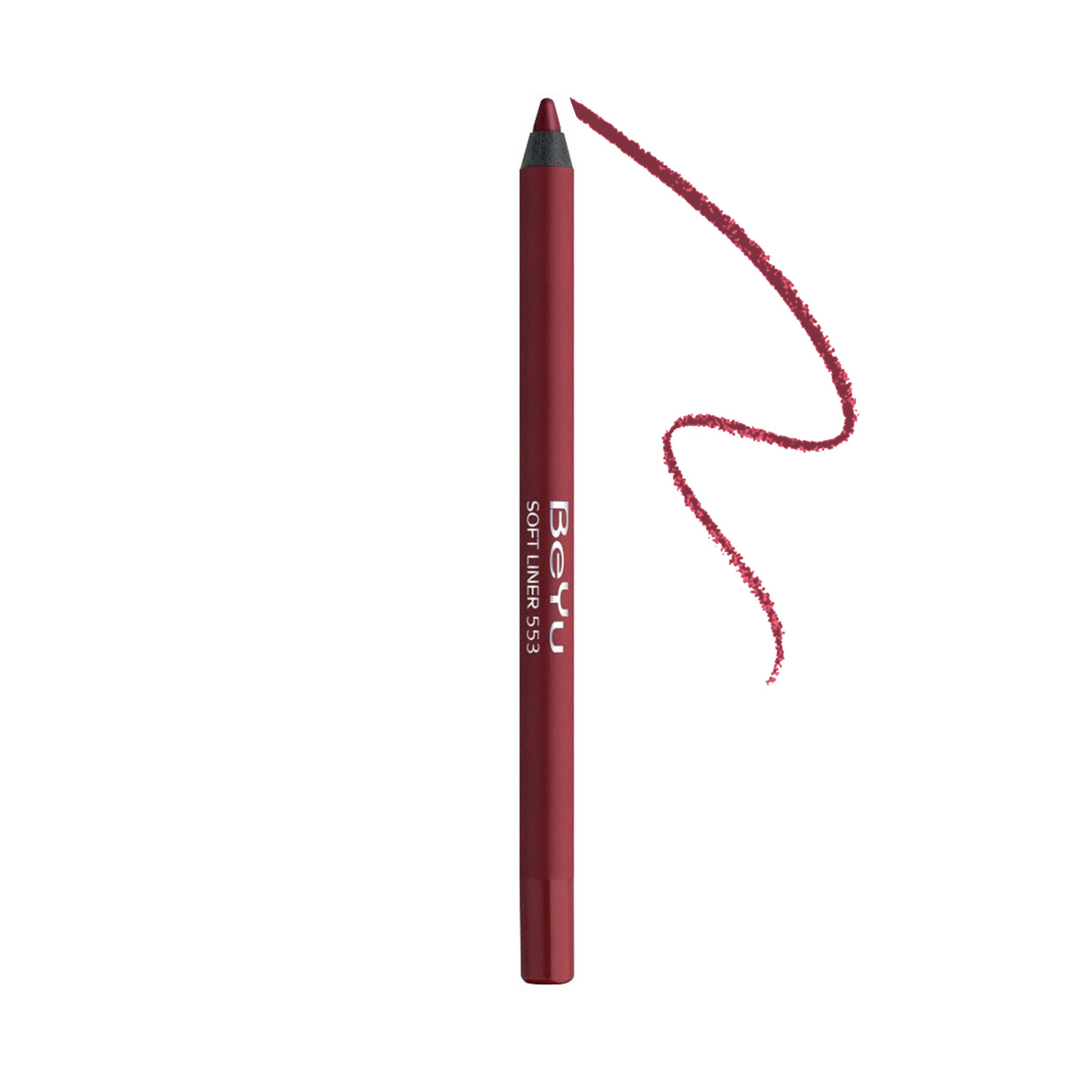 مداد لب بی یو سری Softline شماره 553 -  - 1