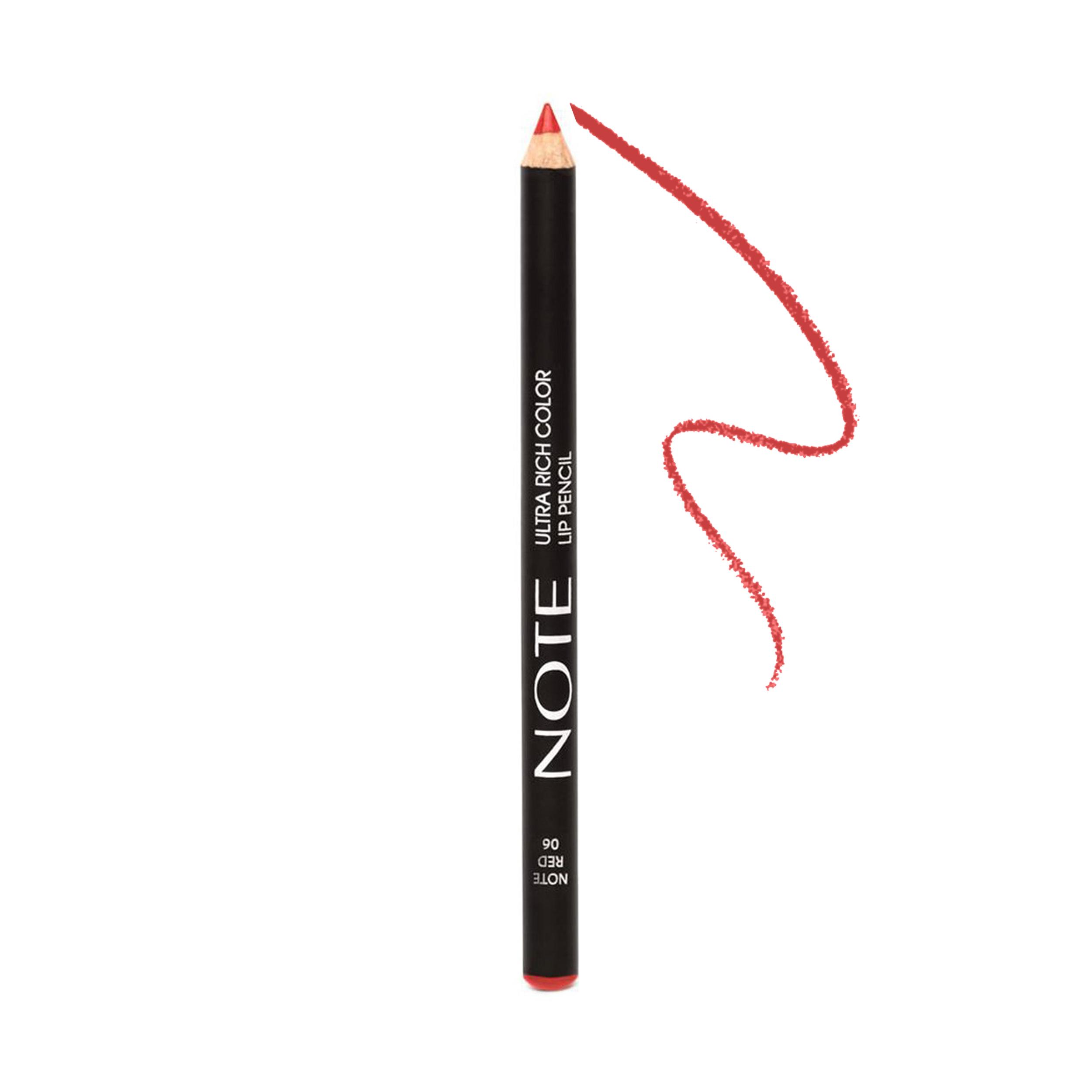 مداد لب نوت سری Ultra Rich Color شماره 06