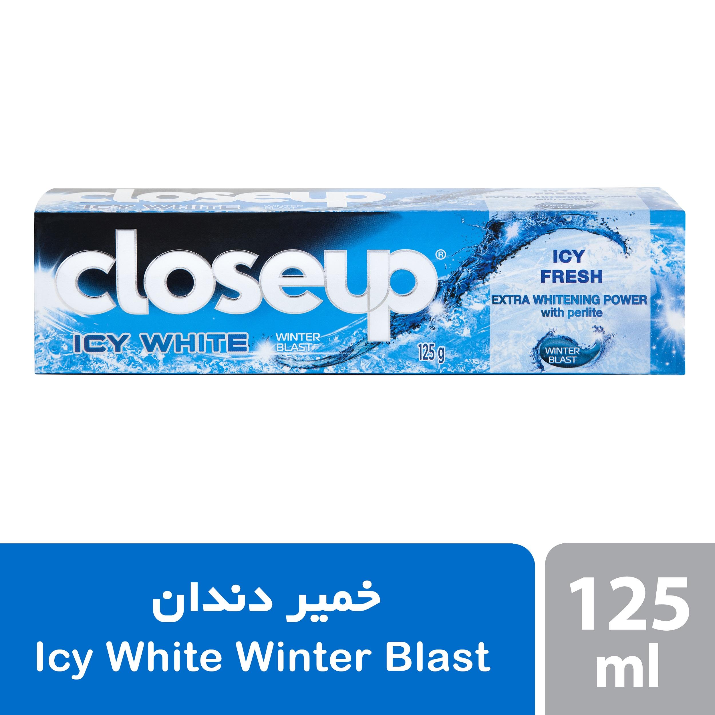 خمیر دندان سفیدکننده کلوس آپ مدل Winter Blast حجم 125 میلی لیتر